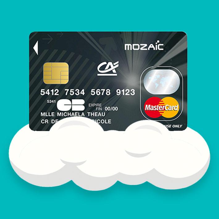 Mastercard Mozaic Credit Agricole Carte Bancaire Pour Les 12 25 Ans