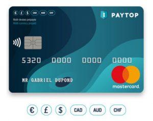 Mastercard prépayée paytop