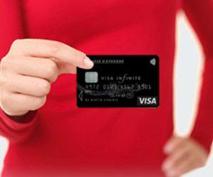 Visa infinite caisse épargne