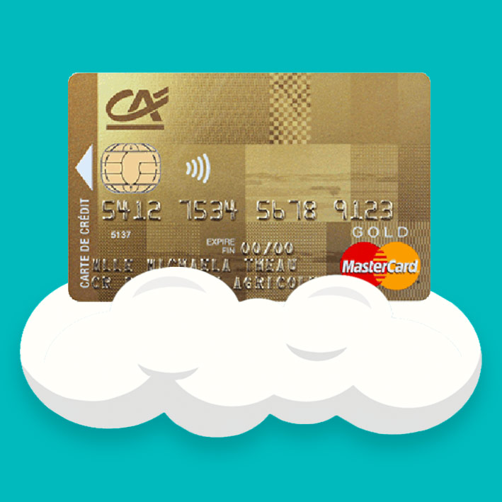 Carte Gold Credit Agricole.Mastercard Gold Credit Agricole