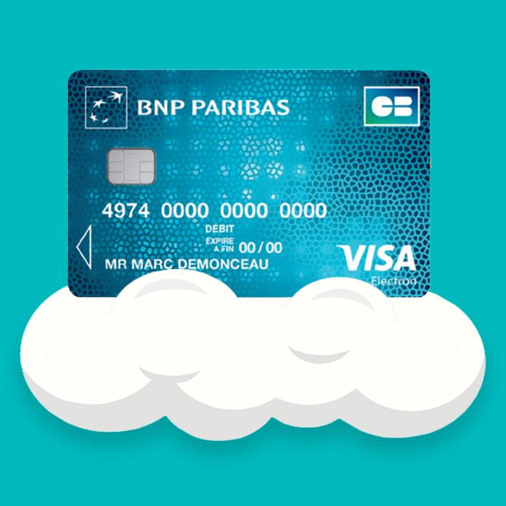 carte visa electron bnp Visa électron Bnp Paribas : Carte de paiement avec sécurité pour