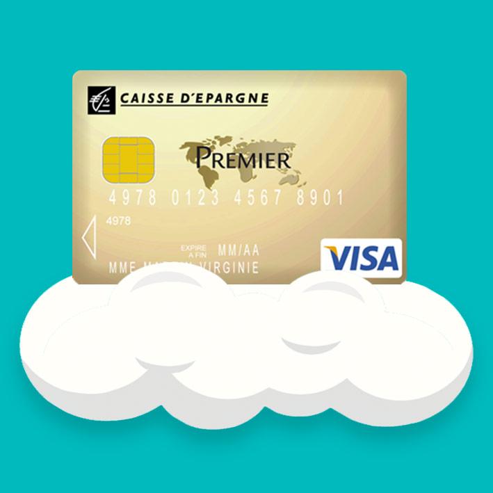 plafond carte visa caisse epargne Visa Premier Caisse épargne : Carte bancaire haut de gamme. 160€/an
