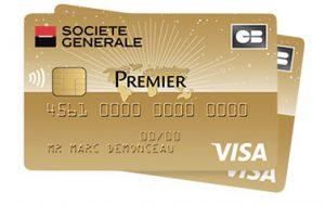Carte Visa Classic Societe Generale.Visa Premier Societe Generale